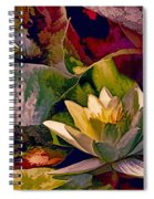Water Lily In Living Color Spiral Notebook