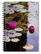 Water Lily Near Rijksmuseum Museum Spiral Notebook