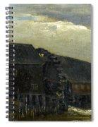 Water Mill At Opwetten Vincent Van Gogh Spiral Notebook