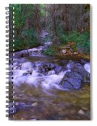 Water Never Tires Spiral Notebook