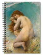 Water Nymph Spiral Notebook