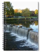 Water Over The Dam Spiral Notebook