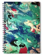 Water Panda Spiral Notebook