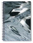Water Patterns Spiral Notebook