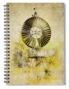 Water-pumping Windmill Spiral Notebook