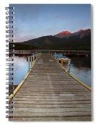 Water Reflections At Pyramid Lake Spiral Notebook