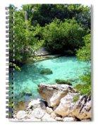 Water Shallows Spiral Notebook