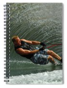 Water Skiing Magic Of Water 11 Spiral Notebook