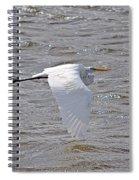 Water Skimming Spiral Notebook