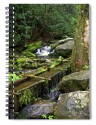 Water Sluice  Spiral Notebook
