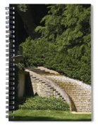 Water Staircase Spiral Notebook