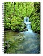 Water Stairs 2 Spiral Notebook