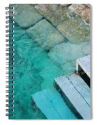 Water Steps Spiral Notebook