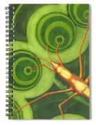 Water Strider Spiral Notebook