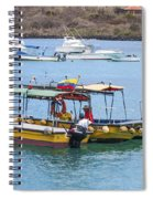 Water Taxis Waiting Spiral Notebook