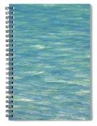 Water Texture Spiral Notebook