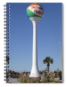 Water Tower - Pensacola Beach Florida Spiral Notebook