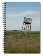Water Tower Spiral Notebook