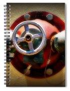 Water Valve Spiral Notebook