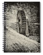 Water Wheel Spiral Notebook