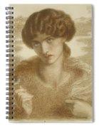 Water Willow Spiral Notebook