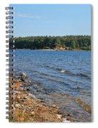 Water Wisp Spiral Notebook