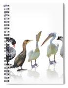 Waterbirds Spiral Notebook