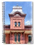 Waterbury Vermont Train Station Spiral Notebook