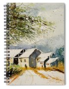 Watercolor 010708 Spiral Notebook