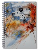 Watercolor  011012 Spiral Notebook