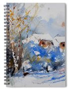 Watercolor  011020 Spiral Notebook