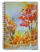 Watercolor 011121 Spiral Notebook