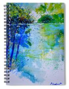 Watercolor 012112 Spiral Notebook