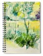 Watercolor 014052 Spiral Notebook