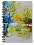 Watercolor 015003 Spiral Notebook