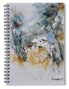Watercolor 015060 Spiral Notebook
