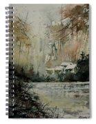 Watercolor 070608 Spiral Notebook