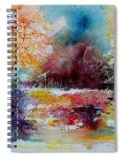 Watercolor 140908 Spiral Notebook