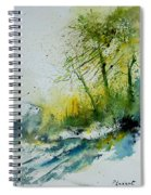 Watercolor 181207 Spiral Notebook