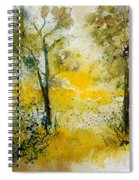 Watercolor 210108 Spiral Notebook