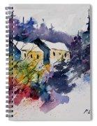 Watercolor 231207 Spiral Notebook