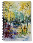 Watercolor 280809 Spiral Notebook