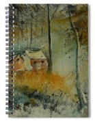 Watercolor  900170 Spiral Notebook