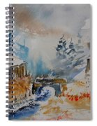 Watercolor  902102 Spiral Notebook