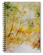 Watercolor  908012 Spiral Notebook