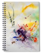 Watercolor  908090 Spiral Notebook