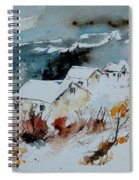 Watercolor  9090723 Spiral Notebook