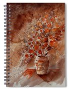 Watercolor Autumn Bunch Spiral Notebook