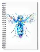 Watercolor Bee Spiral Notebook