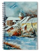 Watercolor Chassepierre Spiral Notebook
